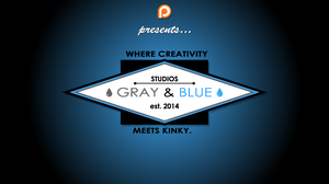 Gray and Blue go PATREON by 50percentgrey