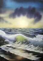 """Seascape"" by DarrenCarnall"