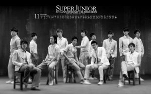 Super Junior - 5th Anniversary by Dextera
