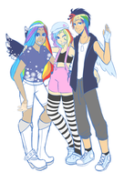 rainbow kids by ssenarrya