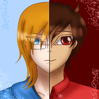 Red and Blue by garche4291
