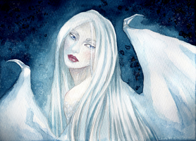 Ghostly apparition by Laura-Vi