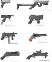 Just some 0.6 handguns IV by Robbe25