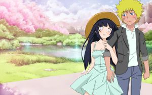 NaruHina - 1st date by Demon-Twin