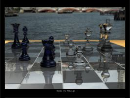 7thsign Chess Board by 7thsign