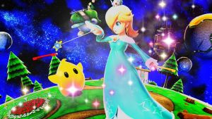 Rosalina Wallpaper by PeachyEstela