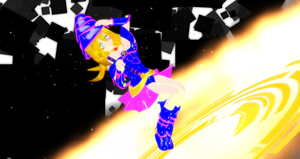 MMD-Dark Magician Girl-request by Hikary1