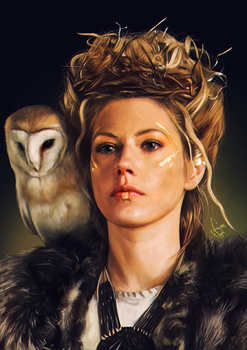 Lagertha / Katheryn Winnick by junkome