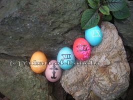 Organization XIII Easter eggs by Yukari-of-Konoha