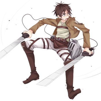 Eren Jeager by Ipun