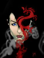 girl with the dragon tattoo by boneyjr
