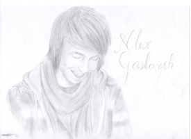 Alex Gaskarth drawing by 30STMarissGDMCR