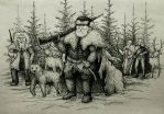 Siberian hunters by Sigarth