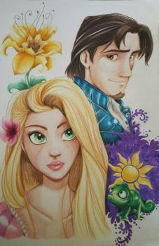tangled by jerrydeboo