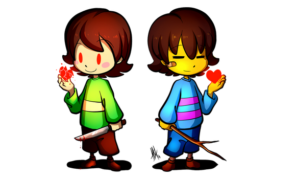 FRISK- speedpaint (paint tool sai) - YouTube