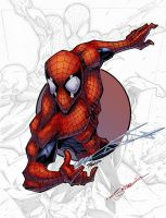 SpiderMan 2 Circle Series by logicfun
