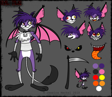 New Evil Tilki Reference by MeckelFoxStudio