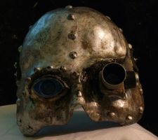 Steampunk Mask 1 by designintervener