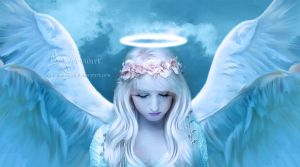 The sweet angel by annemaria48