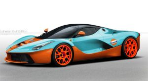 LaFerrari Gulf Edition by YogaBudiwCUSTOM