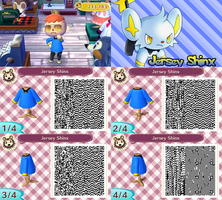 QR Code ACNL: Jersey Shinx by One-Eco