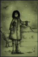 The first snow. by Kaelte