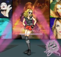 Madonna - She's Not Me by andreshanti