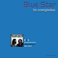Blue Star for covergloobus by gabriela2400