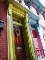 Doors of Pittsburgh by Loralthea