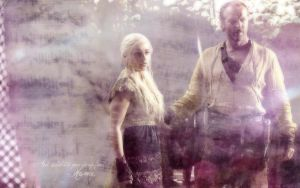 Jorah and Dany by mane-av-vinter