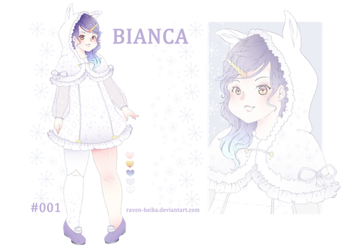 [OPEN AUCTION] - Bianca by Raven-Heika