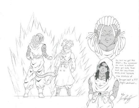 DragonBall Xenoverse - New Adventure by davonne
