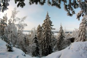 Winter view by xPedrox90