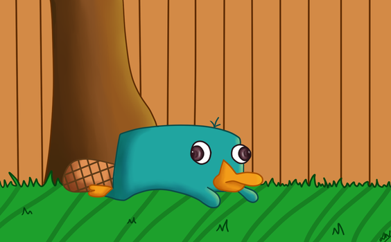 Perry the Platypus by nickknax