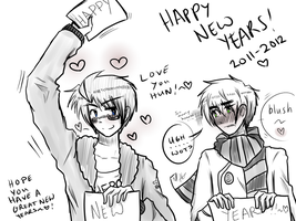 HAPPY NEW YEARS by akitokun1