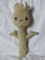 Little Groot Amigurumi Plush 2 by Tiffamis