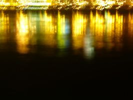 River Duna By Night @ Budapest by DavidsMindFly