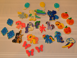 My little pony sugar cookies by KyoFishie