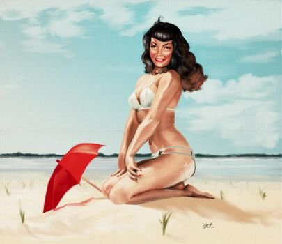 Pin-Up Practice by maristane