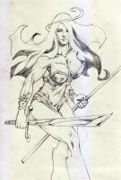 Barbarian Woman by carverhouse