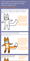 How to create a visual reference - tutorial by Neko-Maya
