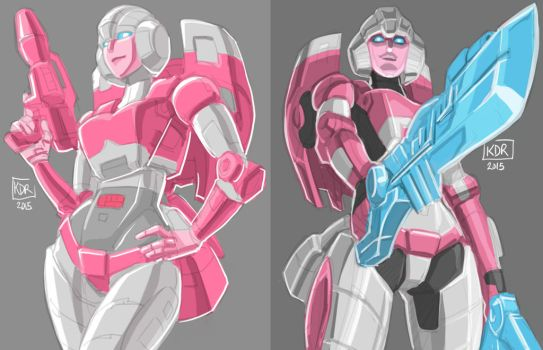 Arcee Sketch by KevinRaganit