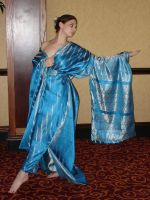 Blue Kimono 11 by HiddenYume-stock