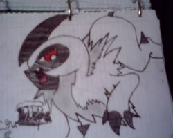 Absol by X-Prince-Connor-X