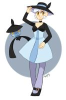 Lampent gijinka by Amphany