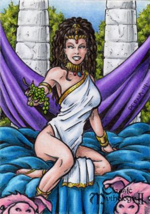 Circe Sketch Card - Classic Mythology II
