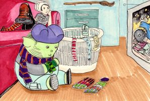 Tim the monster Part 4 by Strobili