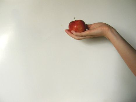 Hand with Poison Apple Stock6 by NoxieStock