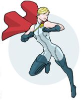 Power Girl by JoelRCarroll