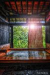 Japanese open air hot spa by TOMOHDR